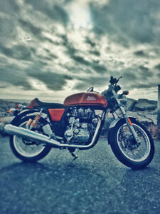 Cafe Racer - 2015 Royal Enfield Continental GT