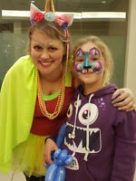 Face Painting, Balloon Twisting & Entertainers