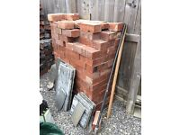 Furness Weathered Red Old Victorian Engineering Bricks 235 x 80mm approx 200 Brick