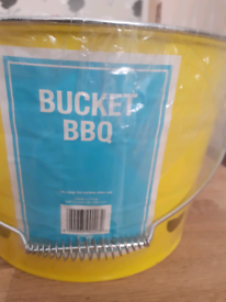 Brand new Bucket BBQ for sale £5.00