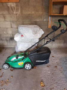 Certified 14 inch 10A Electric Lawn Mower AND Extension Cord