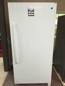 GE Upright Manual Defrost Freezer