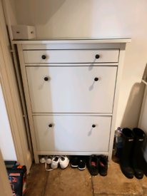 Ikea Hemnes Shoe Cupboard with glass cover collection from Bagh