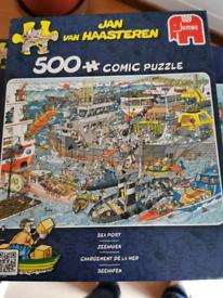 500 piece jigsaw puzzle