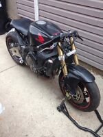 2006 cbr600rr street fighter project.