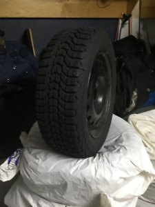 4 snow tires and rims used for only two winters (195/60 R15)