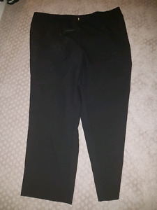 Size 22 brand name black dress pants