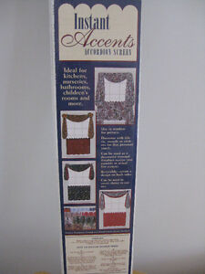 ACCORDION STYLE OPAQUE WINDOW PRIVACY SCREEN(S)