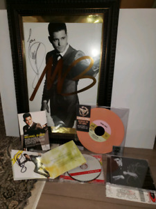 Michael Buble signed collectibles