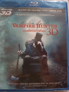 Vampire Hunter 3D Blu Ray Combo set New & Sealed