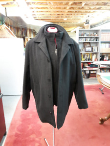 WOOL & CASHMERE WINTER COAT