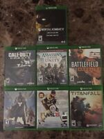 Xbox One Games In Mint Condition