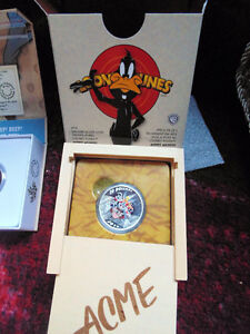 Looney Tunes Complete Set 10 coins of solid 999.9 proof silver London Ontario image 3