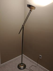 Floor Lamp - Gold & Silver
