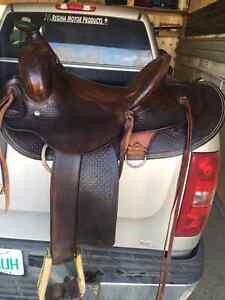 Original Riley McCormick Saddle for sell Regina Regina Area image 3