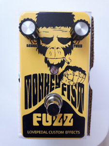 Lovepedal Monkeyfist Fuzz pedal