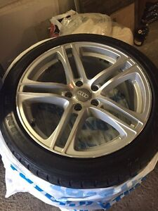 Audi R8 reps 18.8 5x112 with tires!!!