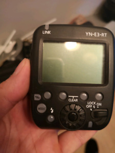 Transmitter YONGNUO midel YN-E3-RT