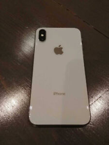 iPhone X for sale or swap 64 gig Iike new purchased from Rogers