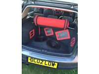 2007 mk5 Golf GT-TDi pd170 200+bhp, air-ride suspension and Hertz audio