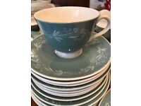 Royal Dolton Dinner Service Set Plates 47 Piece Rare Vintage Classic Collectable