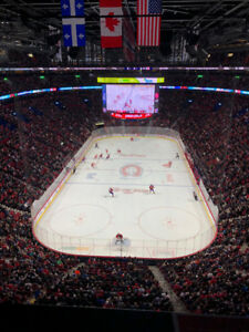 Billets Canadiens vs Boston 1ST ROW Whites 310 AA Seats 3-4