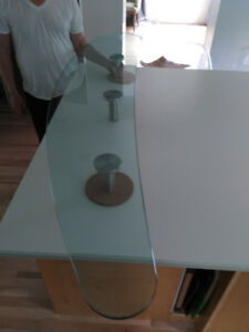 Raised Glass Counter-top $450 Call or text 721-6577