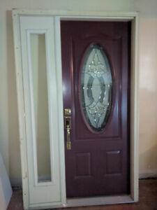 Steel Front Door Entrance Door Complete Insert Frame Assembly