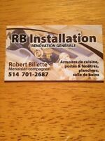 RB installation
