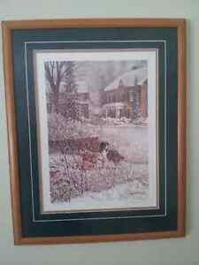 """Part of the Family"" D. Laird Print London Ontario image 1"
