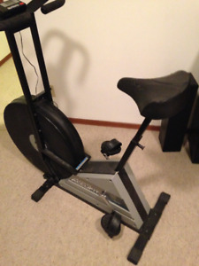Exercise Bike and Speakers