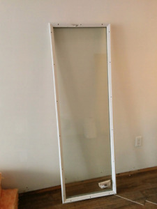 Full glass door lite