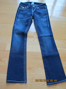 True Religion original 'Becky' Jeans with Rhinestones