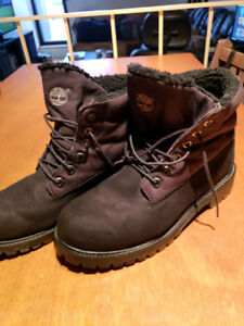 Bottes Homme TIMBERLAND Noir Roll Up  Taille 7