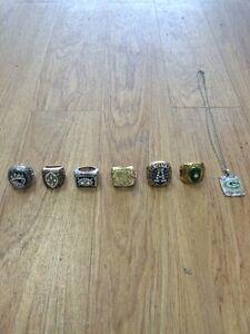 NFL Replica Championship Rings.