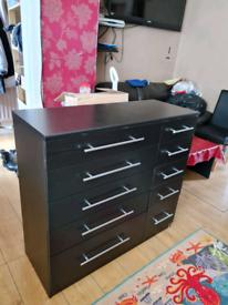 Drawer black new £165