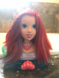 Disney's Ariel Bath Time Styling Head