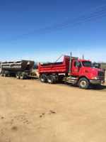 Looking for 2 FULLTIME YEAR ROUND CLASS 1 GRAVEL TRUCK DRIVERS