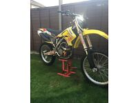 Rmz 250 2006 motocross bike