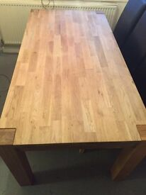 Milano Oak Dining Table only(Pristine Condition)