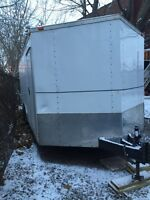 V-nose trailer for 5000$!