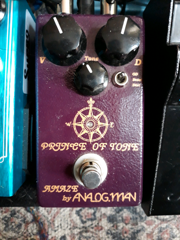 Analog man prince of tone overdrive guitar pedal | in Southsea, Hampshire |  Gumtree