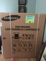 Brand new Samsung dishwasher Stainless steel