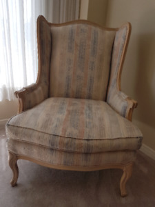 Louis XV Style Bergere Chair (from the Art Shoppe)