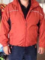 Men's xl wind river jacket w/hood