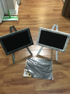 Rustic Chalkboard Event Signs