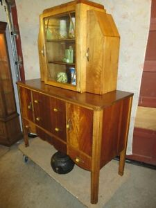 GRAMAS ESTATE 1930S ART DECO CHINA CABINET / HUTCH Moose Jaw Regina Area image 2