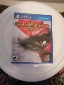 God of war remastered  BRAND NEW (PS4)