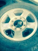 4- factory 17 inch ford superduty rims