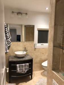 Move-in Ready, fully furnished Executive Living in Mississauga